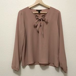 ☀️Forever 21 Dusty Rose Pink Blouse